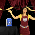 Who is Zany Zoe? Magician for Hire Los Angeles
