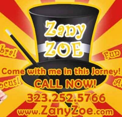 Magician Zany Zoe