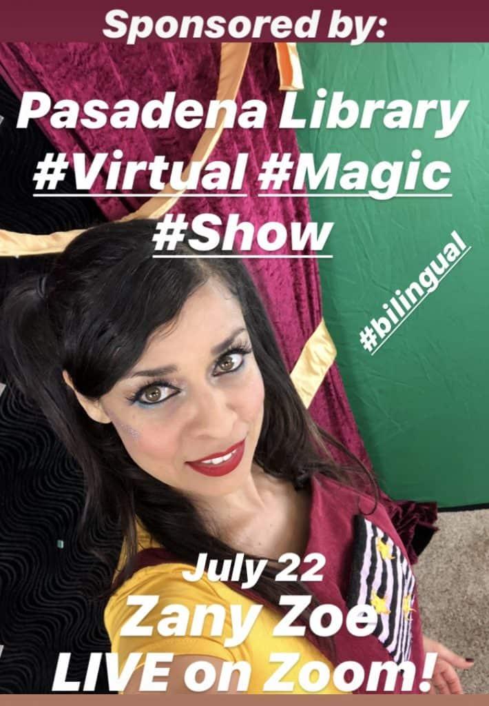 Virtual Magic Show Worldwide, National and International
