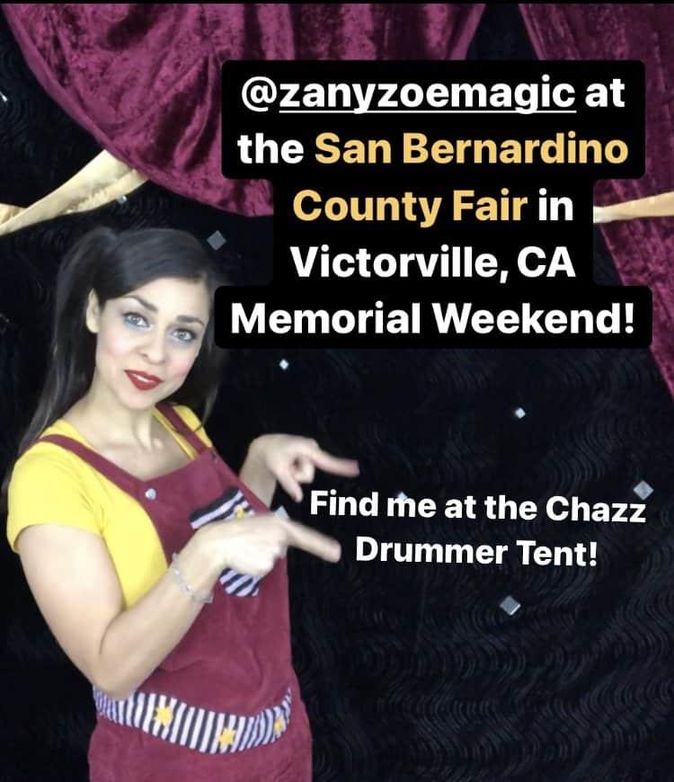 Family Magician Zany Zoe